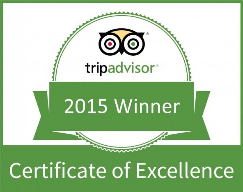 Paraíso Caño Hondo AWARDED 2015 TRIPADVISOR CERTIFICATE OF EXCELLENCE
